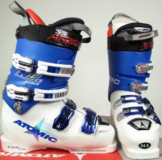 2007 atomic rt cs 100 white blue ski boots 24 5 upc 817503200109 the