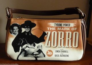 VINTAGE HANDBAG 20TH CENTURY FOX TYRONE POWER THE MARK OF ZORRO