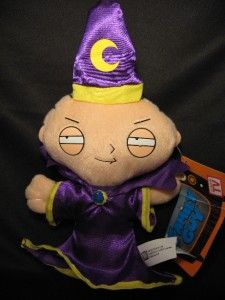20th Century Fox FAMILY GUY (WIZARD STEWIE) 7 Stuffed PLuSH DOLL *NwT