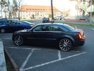 24 inch Chrysler 300 C 300C Chrome Wheels Rims Dub 5 L