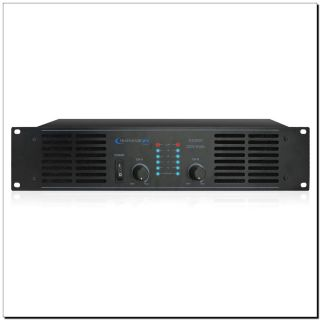 Technical Pro AX2000 Professional 2 Channel Power Amplifier Rack