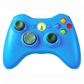 New Blue Xbox 360 Rapid Fire Modded Limited Controller 12 Mode Drop