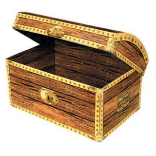 Treasure Chest Box Large Party Supplies Fancy Dress