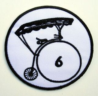 TV Series Patrick McGoohan Number 6 Embroidered Village Patch