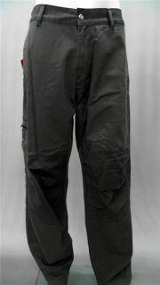 55DSL Pantalone Bicorn Mens 32 Carpenter Casual Pants Gray Solid