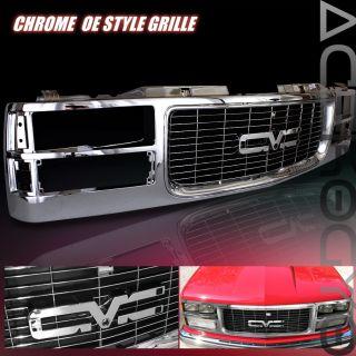 94 95 96 97 98 99 GMC Suburban 1500 Front Grille Chrome Euro Style