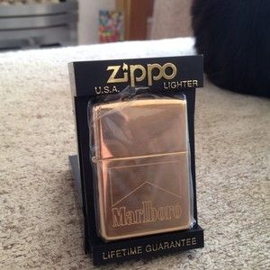 90s Marlboro Zippo Lighter Brand New in Box