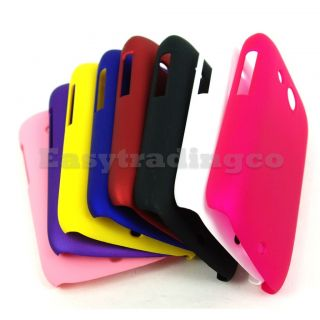 8x Back Case Cover HTC Desire C A320E Black Blue Pink Purple Red White