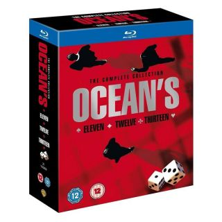 Oceans Trilogy 11 12 13 Blu Ray Complete Collection Box Set Eleven