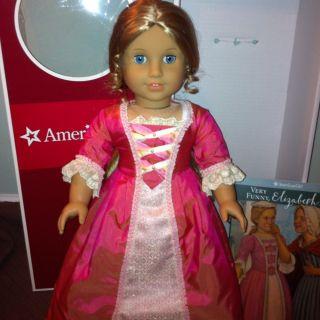 American Girl Doll Elizabeth Retired Perfect Condition