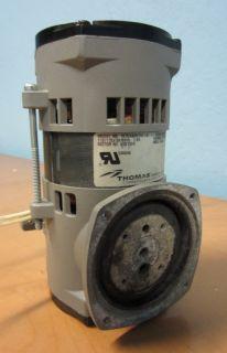 Thomas 107CAB20TFE A Diaphragm Compressor Vacuum Pump 110 115VAC 50