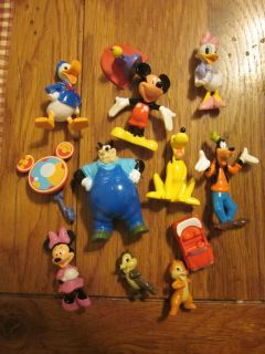 Mouse Clubhouse Playset w 12 Figures Chip Dale Daisy Pete More