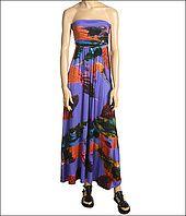 Gabriella Rocha Shatler Maxi Dress vs DKNYC Drape Front Tee w/ Hood