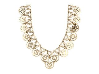 Lucky Brand Gold Openwork Collar Necklace