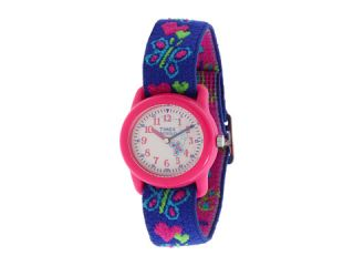 Timex   Childrens Hearts and Butterflies Stretch Band Watch