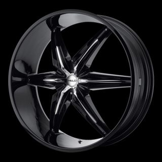 26 inch Black Rims Wheels Lincoln Navigator 5x135 5 Lug