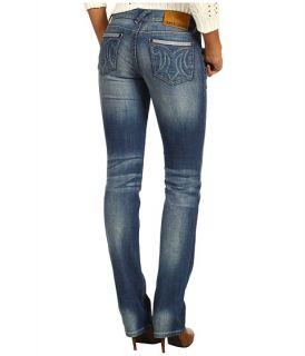 Mek Denim Hollywood Straight Leg Jean in Medium Blue
