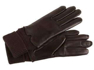 ugg heritage logo leather glove $ 58 99 $ 95