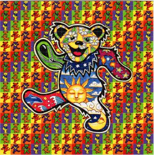 Dancing Bears Perforated Grateful Dead Blotter Art