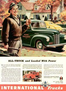 Handy Mans Pickup in 1945 International Trucks Ad