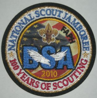Scout Jamboree Fort A P Hill Faph Pocket Patch Mint Jambo NJ