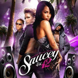 Shoot 5 Ent Saucey Vol 42 Mix CD Aaliyah Trey Songz Alicia Keys Cassie