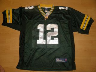 Packers Aaron Rodgers Jersey Green Sewn on Size 50 L and 52 XL