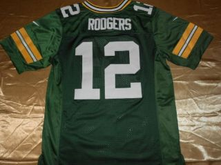Aaron Rodgers Packers 2012 on Field Jersey Size 52 2XL