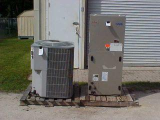 Unit Carrier 5 Ton Split Unit R22 Heat Pump L K 2003 MODLE