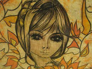 Vintage Original ABELARDO RUIZ PAPIER PAPER MACHE BOX Mexican FOLK ART