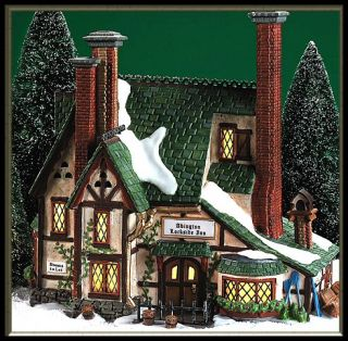 Abington Lockside Inn NEW Department Dept. 56 Dickens Village DV