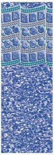 Above Ground Swimming Pool Liner All Sizes Swirl Tile Overlap