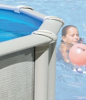 24 x 52 Round Above Ground Swimming Pool Package Sale