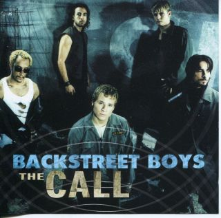 Backstreet Boys The Call Promo CD Single Nick Carter A J McLean