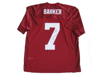 Jay Barker Signed Alabama Nike 92 Champs Jersey Global