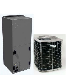 SEER R410A Central AC System Condenser Air Handler with A Coil