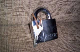 Abloy Padlock The Enforcer ,#590 and key. High security