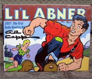 Lil Abner Dailies Vol.3 1937 Hardcover 1st Al Capp LIL ABNER