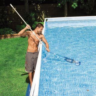 Above Ground Swimming Pool Maintenance Kit Vacuum Skimmer Cleaner