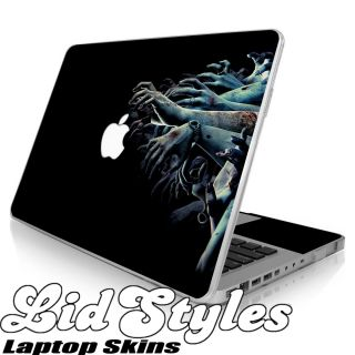 LidStyles Zombie Hands Vinyl Laptop Skin Decal Fits Apple MacBook Pro