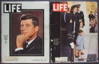 Life Magazines 1963 JFK President John Kennedy Death