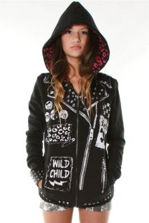 Abbey Dawn New Tattoo Biker Zip Hoody by Avril Lavigne