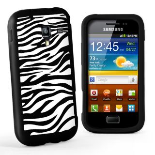 Zebra Case Cover for Samsung I8160 Galaxy Ace 2 II Screen Prote
