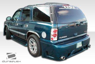 2000 2006 Chevrolet Tahoe GMC Yukon Duraflex Platinum Rear Bumper Body