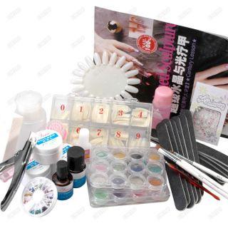 Kit de Accesorios Completos de Manicura Profesionalpara Decoración
