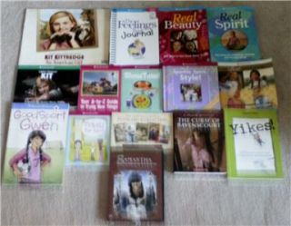 81 American Girl Library Books, 2 CD set & 1 DVD. Books are