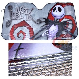 Before christmas Jack Front Window sun Shade NBC Auto Accesories 2