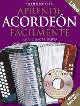 Aprende A Tocar Acordeon de Botones Libro CD Accordion