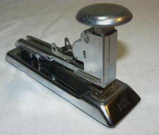 Vintage Industrial Ace Pilot 404 Stapler Mid Century Art Deco Desk