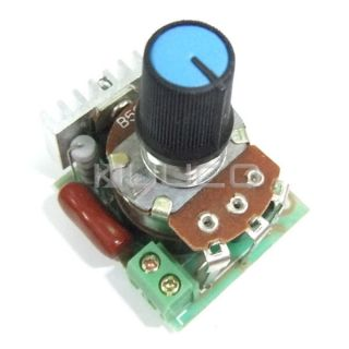 500W SCR AC 220V Voltage Regulator Motor Speed Controller Thermostat